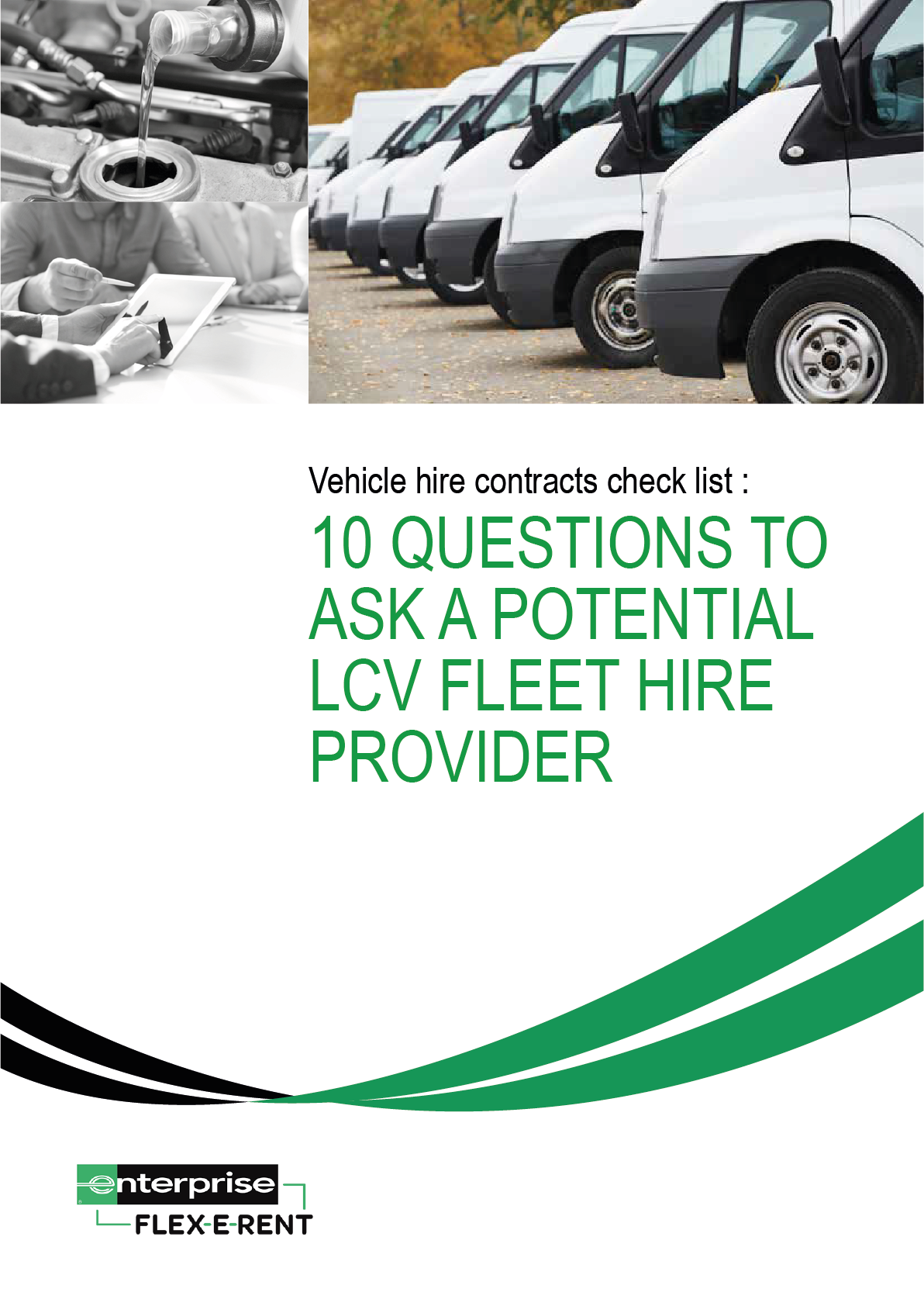 10 questions to ask a potential LCV fleet hire provider