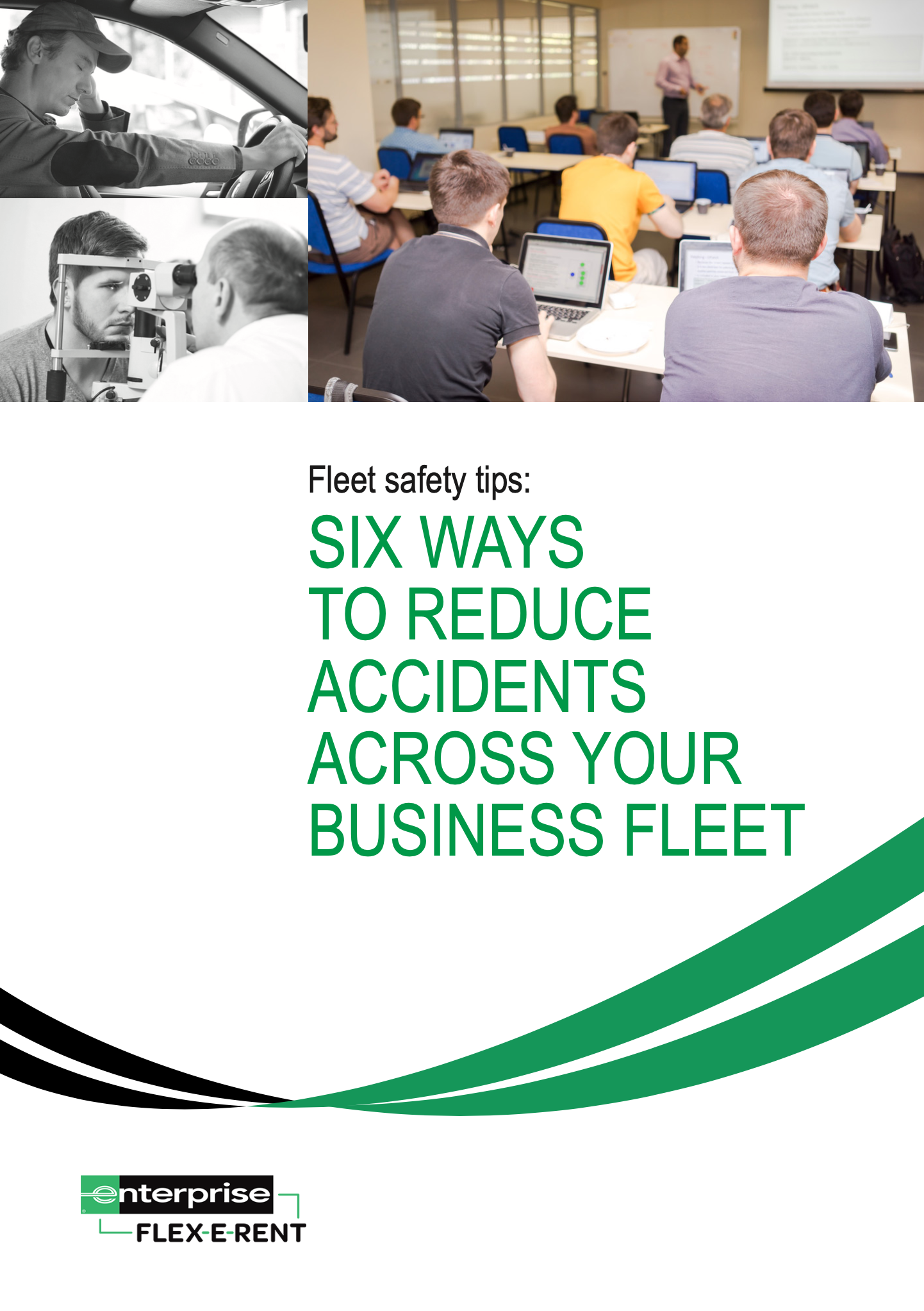 Download our free guide: 'Six ways to reduce accidents across your business fleet'