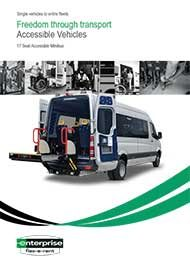 Accessible 17 Seat Minibus – 6 Wheelchairs