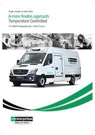 3.5T MWB Refrigerated Van – Chill & Frozen