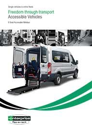 Accessible 9 Seat Minibus – 2 Wheelchairs