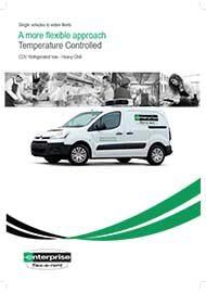 Small Refrigerated Van – Heavy Chill